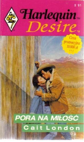 Okładka książki Pora na miłość
