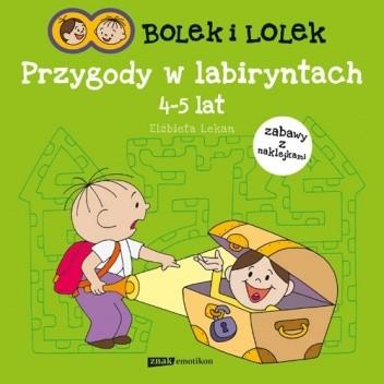 Okładka książki Bolek i Lolek. Przygody w labiryntach