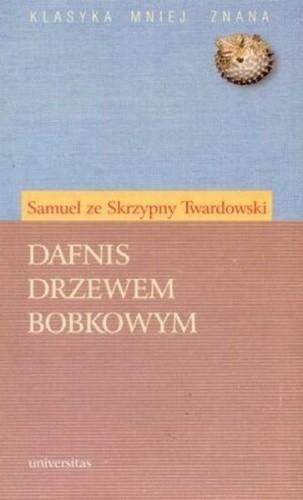 Okładka książki Dafnis drzewem bobkowym