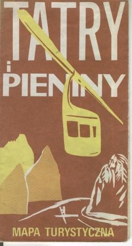 Okładka książki Tatry i Pieniny. Mapa turystyczna
