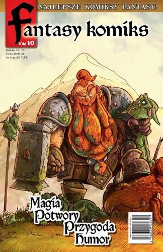 Okładka książki Fantasy Komiks t.10