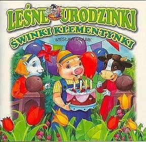 Okładka książki Leśne urodzinki świnki Klementynki