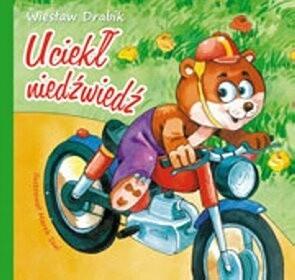Okładka książki Uciekł niedźwiedź