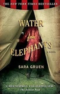 Okładka książki Water for elephants