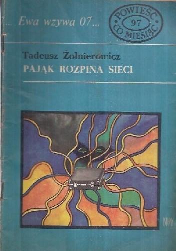 Okładka książki Pająk rozpina sieci