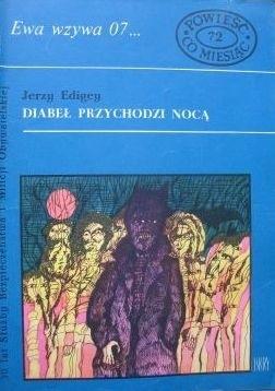 Okładka książki Diabeł przychodzi nocą
