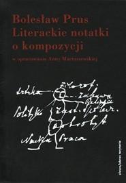 Okładka książki Literackie notatki o kompozycji