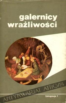 Okładka książki Galernicy Wrażliwości
