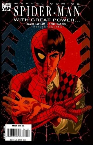 Okładka książki Spider-Man - With Great Power... #1