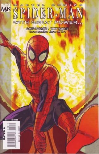 Okładka książki Spider-Man - With Great Power... #3