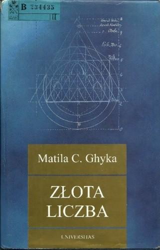 Okładka książki Złota Liczba. Rytuały i rytmy pitagorejskie w rozwoju cywilizacji zachodniej