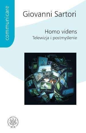 Okładka książki Homo videns. Telewizja i postmyślenie