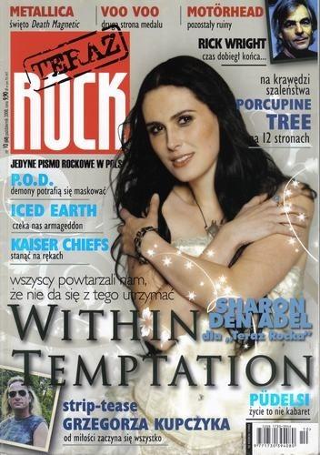 Okładka książki Teraz Rock, nr 10 (68) / 2008