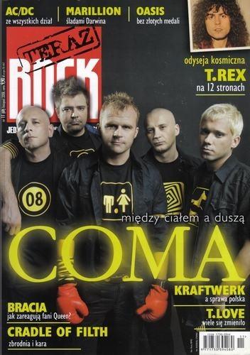 Okładka książki Teraz Rock, nr 11 (69) / 2008