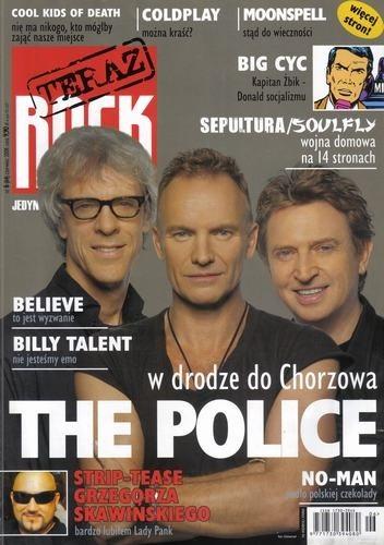 Okładka książki Teraz Rock, nr 6 (64) / 2008