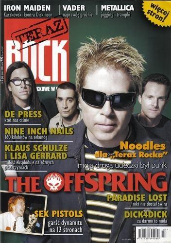 Okładka książki Teraz Rock, nr 7 (65) / 2008