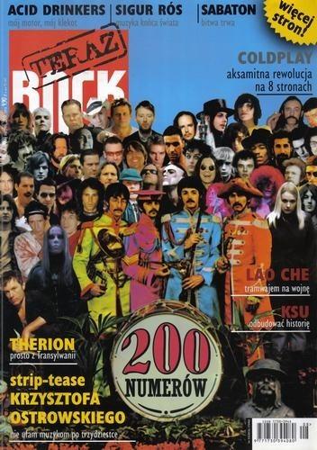 Okładka książki Teraz Rock, nr 8 (66) / 2008