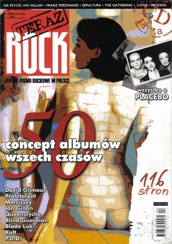 Okładka książki Teraz Rock, nr 4 (38) / 2006