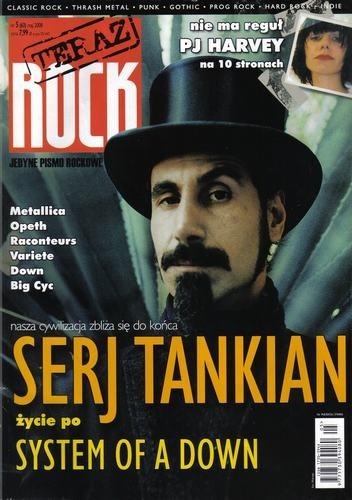 Okładka książki Teraz Rock, nr 5 (63) / 2008