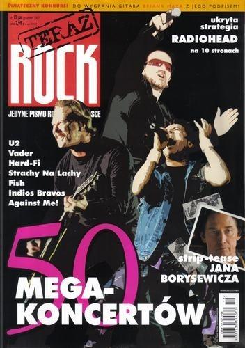 Okładka książki Teraz Rock, nr 12 (58) / 2007