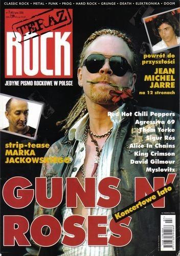 Okładka książki Teraz Rock, nr 7 (41) / 2006
