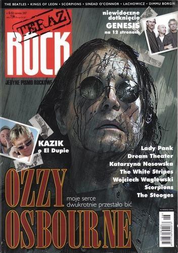 Okładka książki Teraz Rock, nr 6 (52) / 2007