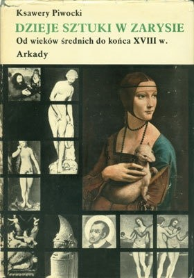 Okładka książki Dzieje sztuki w zarysie. Tom 2. Od wieków średnich do końca XVIII w.