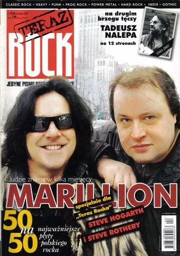 Okładka książki Teraz Rock, nr 4 (50) / 2007