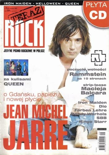 Okładka książki Teraz Rock, nr 9 (31) / 2005