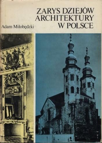 Okładka książki Zarys dziejów architektury w Polsce