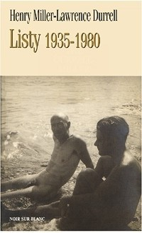 Okładka książki Lawrence Durrell-Henry Miller - Listy. 1935-1980