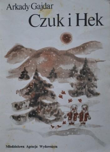 Okładka książki Czuk i Hek