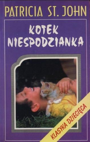 Okładka książki Kotek niespodzianka