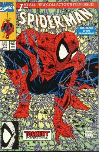 Okładka książki Spider-Man - #01 - Torment #1