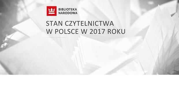 Stan czytelnictwa w Polsce w 2017 roku - bez zmian