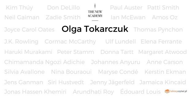 Olga Tokarczuk z nominacją do Nowego Nobla