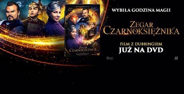 """""""Zegar czarnoksiężnika"""" na dvd!"""