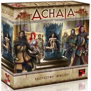 Przepychankom nie ma końca - recenzja gry planszowej Achaja