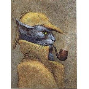 Gdyby koty występowały w znanych książkach...
