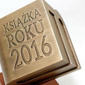 Wydawcy odebrali nagrody Książka Roku 2016 lubimyczytać.pl