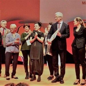 Olga Tokarczuk z nagrodą IX Kongresu Kobiet!