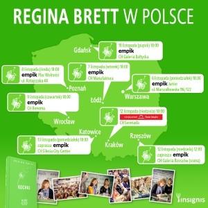 Regina Brett w Polsce!