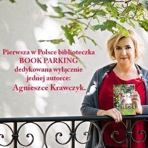 Pierwsza w Polsce biblioteczka BOOK PARKING dedykowana wyłącznie Agnieszce Krawczyk