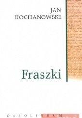 Okładka książki Fraszki Jan Kochanowski