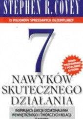 Okładka książki 7 nawyków skutecznego działania Stephen R. Covey