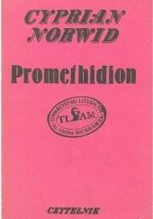 Okładka książki Promethidion. Rzecz w dwóch dialogach z epilogiem