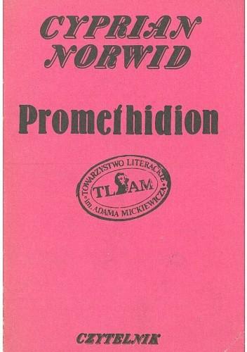 Okładka książki Promethidion. Rzecz w dwóch dialogach z epilogiem Cyprian Kamil Norwid