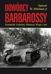 Okładka książki Dowódcy Barbarossy Samuel W. Mitcham Jr