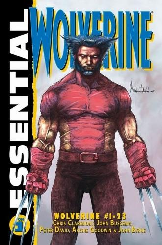 Okładka książki Essential: Wolverine #1 John Buscema,John Byrne,Chris Claremont,Peter David,Archie Goodwin