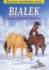 Okładka książki Białek pomaga Mędrusiowi Wiewiórce Marie-Louise Rudolfsson